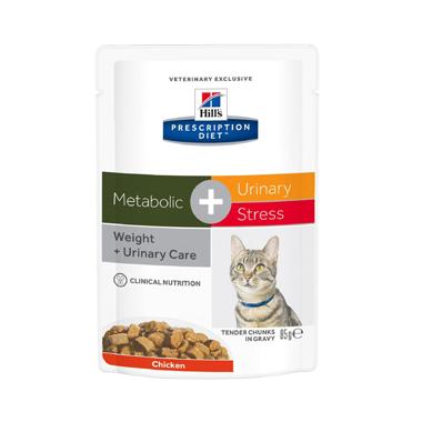 Hills Prescription Diet Feline Metabolic + Urinary Wet