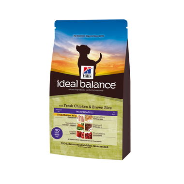 Hill's Ideal Balance Canine Mature Adult Chicken & Brown Rice
