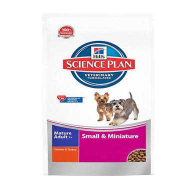 Hill's Science Plan Canine Mature Small & Mini Chicken And Turkey Dog Food