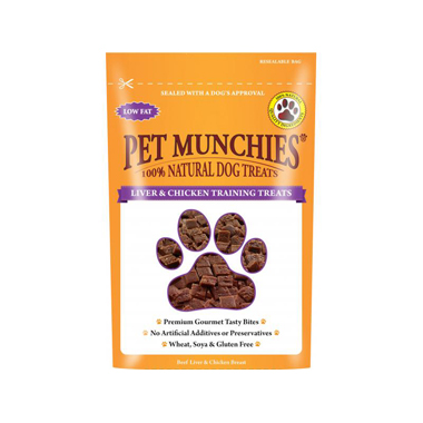 Pet Munchies Liver & Chicken Training Treats for dogs