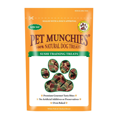 Pet Munchies Sushi Training Treats for dogs