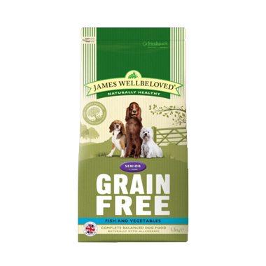 James Wellbeloved Small Breed Grain Free Fish Dog Food