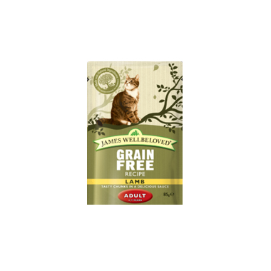 James Wellbeloved Adult Grain Free Lamb Cat Food