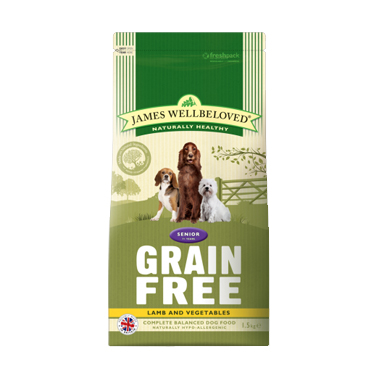 James Wellbeloved Senior Grain Free Lamb Dog Food