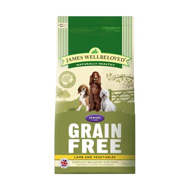 James Wellbeloved Senior Grain Free Lamb Dog Food