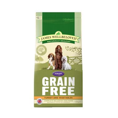 James Wellbeloved Senior Grain Free Turkey Dog Food