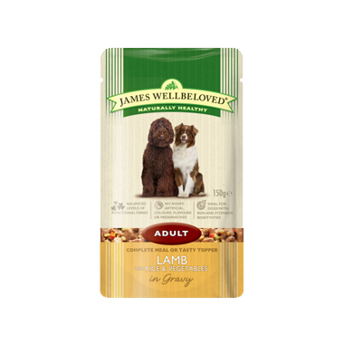 James Wellbeloved Adult Lamb with Rice and Vegetables Dog Food