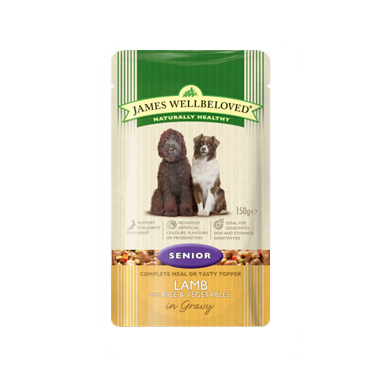 James Wellbeloved Senior Lamb with Rice and Vegetables Dog Food