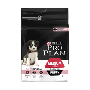 Purina Pro Plan Medium Puppy Sensitive Skin Salmon