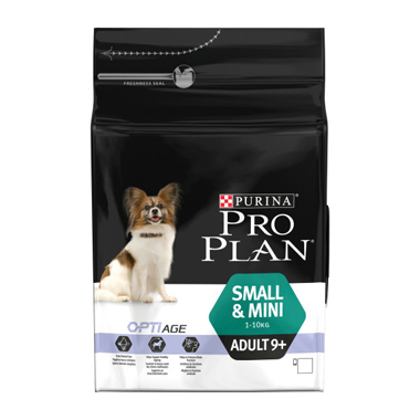 Purina Pro Plan Small and Mini Adult 9+ Dog Food