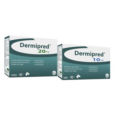 Dermipred 10 mg Tablets for Dogs