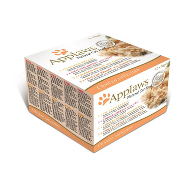 Applaws Chicken Deluxe Select in Broth Pouch Cat Food