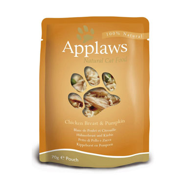 Applaws Chicken Breast & Pumpkin in Broth Pouch Cat Food