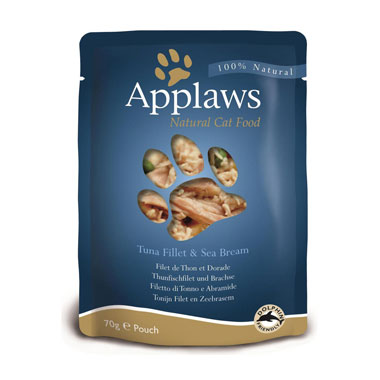 Applaws Tuna Fillet & Sea bream in Broth Pouch Cat Food