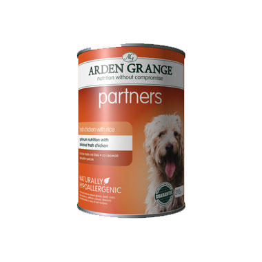 Arden Grange Partners Dog Chicken, Rice & Vegetables