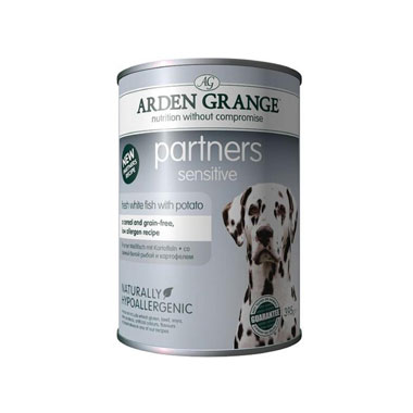 Arden Grange Partners Dog Sensitive White Fish with Potato