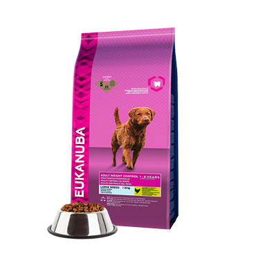 Eukanuba Adult Dog Large Breed Weight Control Chicken