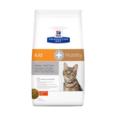 Hill's Prescription Diet K/D + Mobility Feline