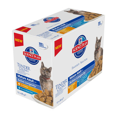 Hill's Science Plan Feline Mature Pouch Multipack
