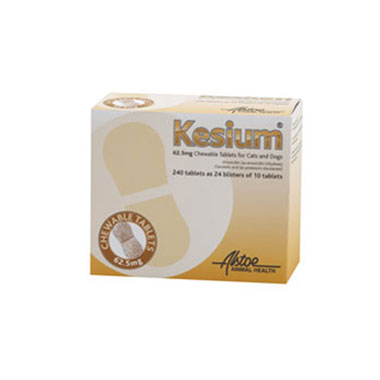 Kesium Chewable Tablets for Dogs & Cats