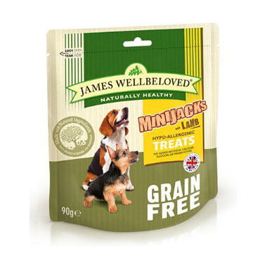 James Wellbeloved MiniJacks Cereal Free Lamb Dog Treats
