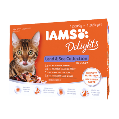 Iams Delights Land & Sea Jelly Selection