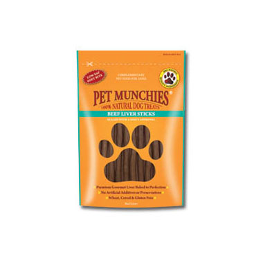 Pet Munchies Beef Liver Sticks Dog Treats