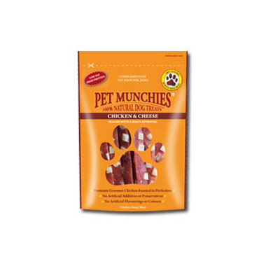 Pet Munchies Chicken & Cheese Dog Treats