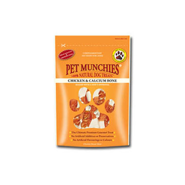 Pet Munchies Chicken & Calcium Bone Dog Treats