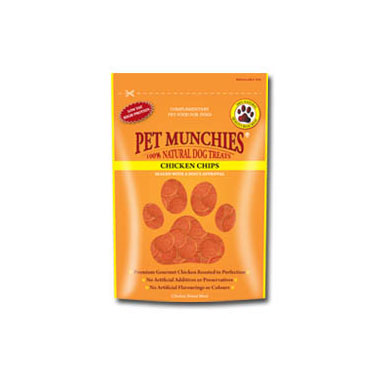 Pet Munchies Chicken Chips Dog Treats