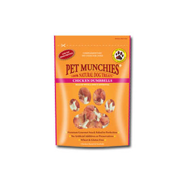 Pet Munchies Chicken Dumbbells Dog Treats