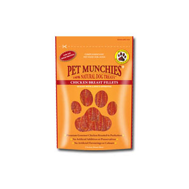 Pet Munchies Chicken Breast Fillets Dog Treats
