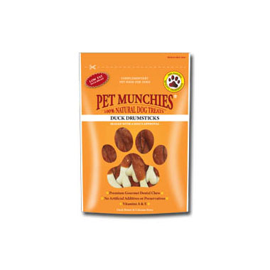 Pet Munchies Duck Drumsticks Dog Treats