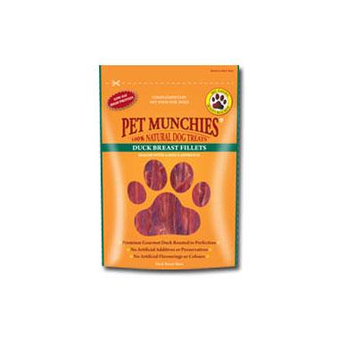 Pet Munchies Duck Breast Fillets Dog Treats