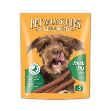 Pet Munchies Gourmet Duck Stix Dog Treats