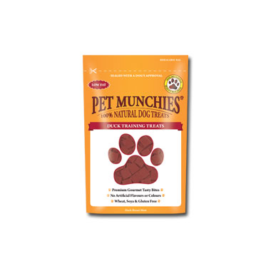 Pet Munchies Duck Training Dog Treats