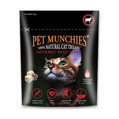 Pet Munchies Gourmet Beef Liver Cat Treats