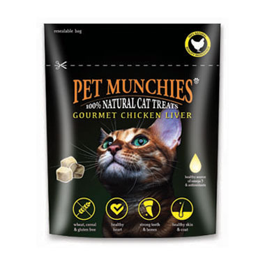 Pet Munchies Gourmet Chicken Liver Cat Treats