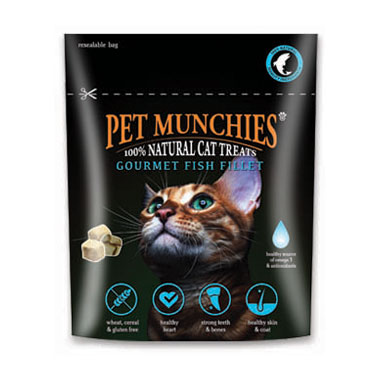 Pet Munchies Gourmet Fish Fillet Cat Treats