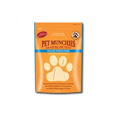 Pet Munchies Ocean White Fish Dog Treats