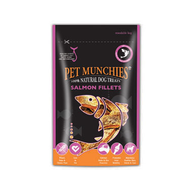 Pet Munchies Salmon Fillets Dog Treats