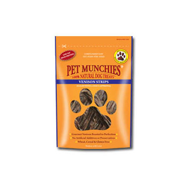 Pet Munchies Venison Strips Dog Treats