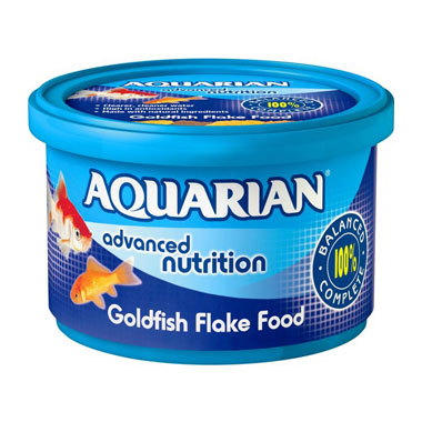 Aquarian Goldfish Food Flakes