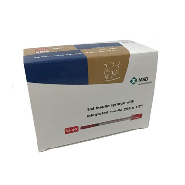 MSD 1ml U40 Insulin (Caninsulin) Syringe