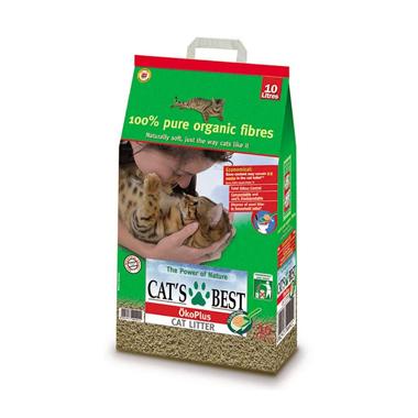 Cat's Best OkoPlus Clumping Wood Cat Litter