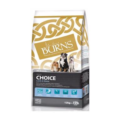 Burns Choice Lamb  & Maize Adult Dog