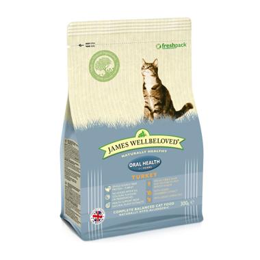 James Wellbeloved Adult Oral Health Turkey Cat Food