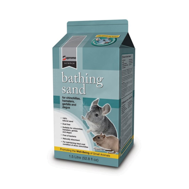 Supreme Science Bathing Sand for Hamsters & Chinchillas