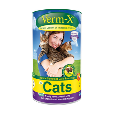 Verm-X Crunchies Herbal Cat Treats