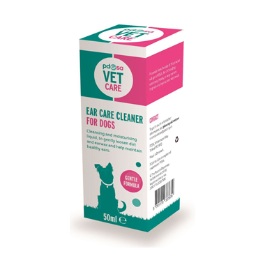 PDSA Vet Care Ear Care Cleaner Dog